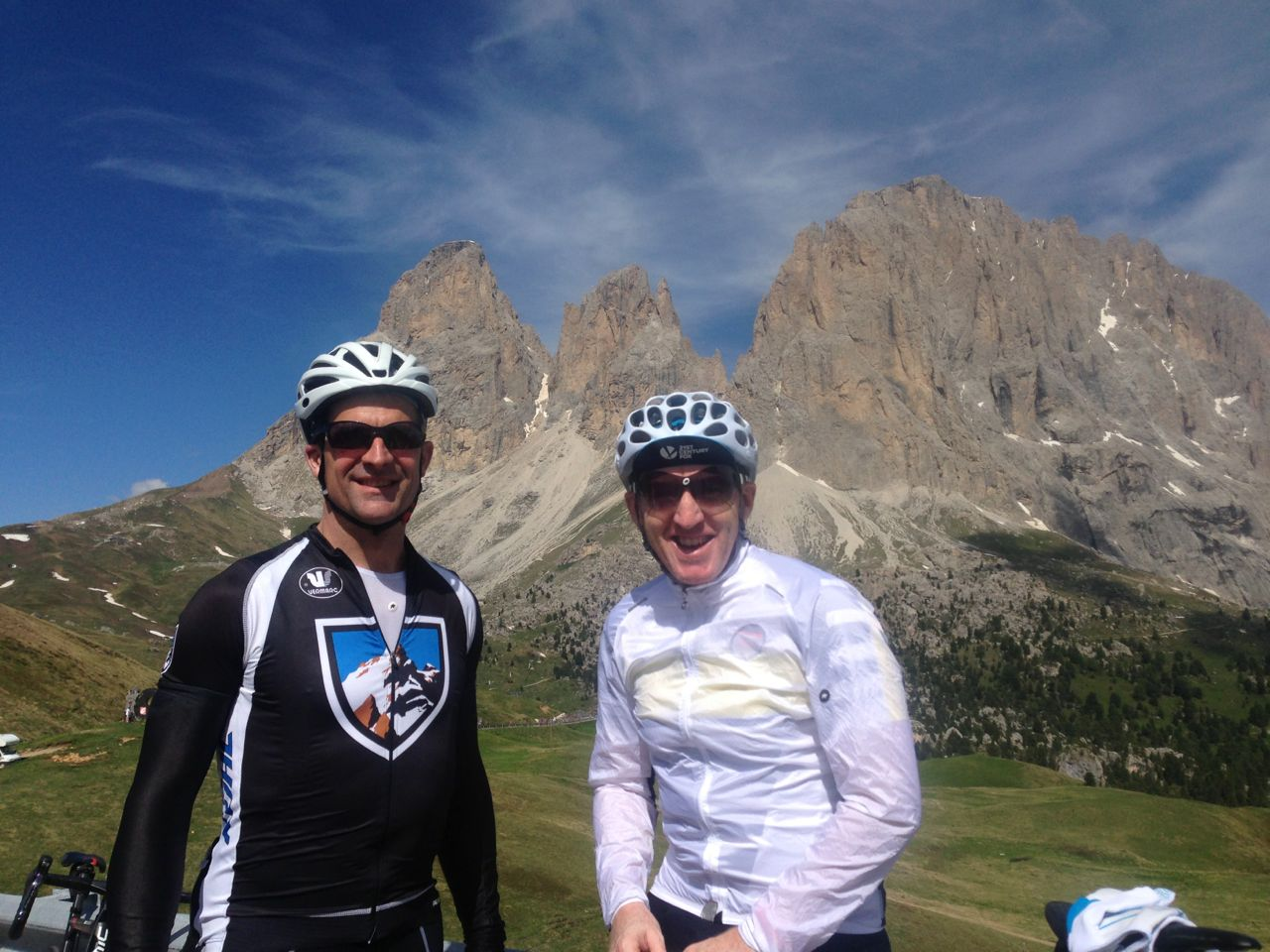 Sellaronda Bikeday 2014 / Bill & Keith