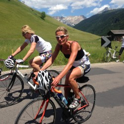 Sellaronda Bikeday 2014 / Hilli & Sarah
