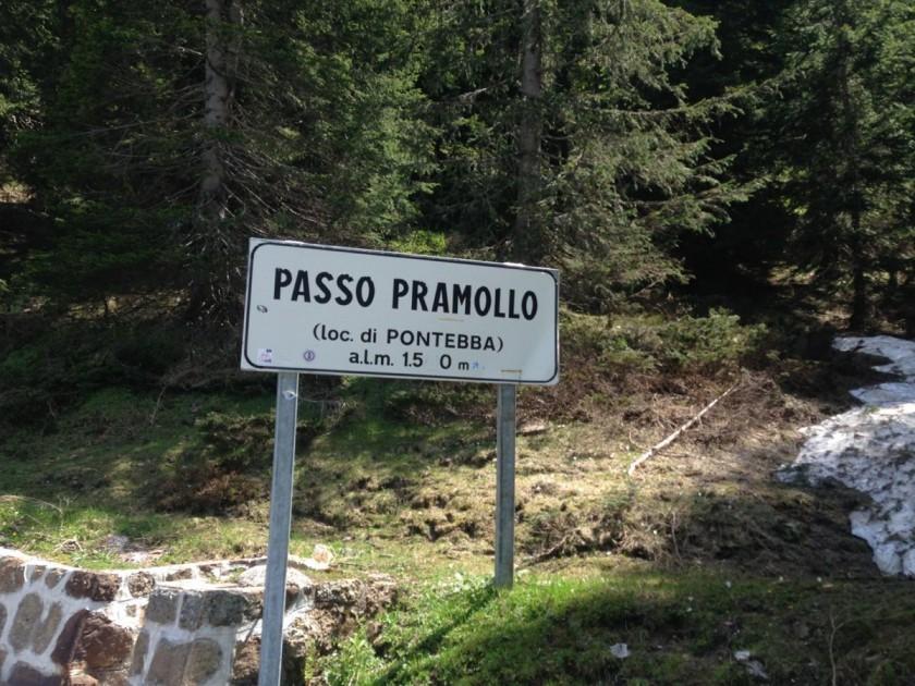 Super Giro Dolomiti 2014 / Nassfeldpass - Passo Pramollo