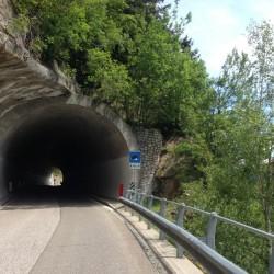 Timmelsjoch / Tunnel nach Stuls