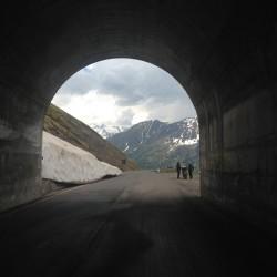 Rennradtour um den Ortler / Tunnelblick