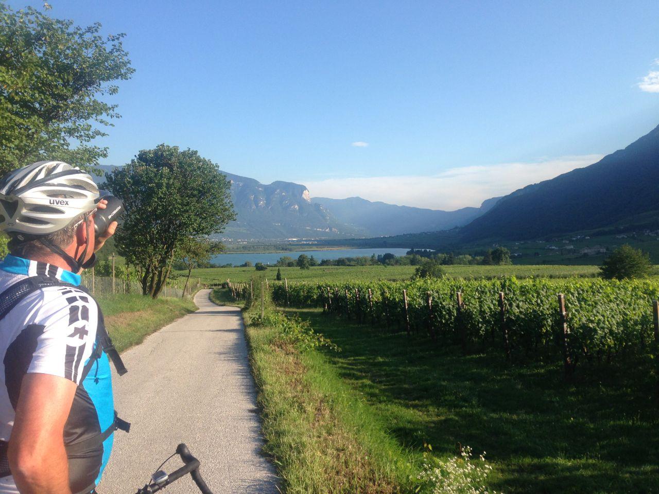 Geführte Rennradtour Südtirol / Kalterersee