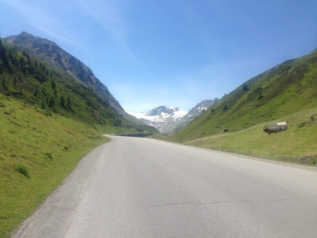 Rennradtour Ötztaler Gletscherstrasse