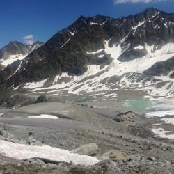 Rennradtour Ötztaler Gletscherstrasse: Parkplatz Rettenbachferner