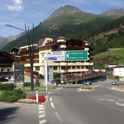 Rennradtour Ötztaler Gletscherstrasse: Start in Sölden