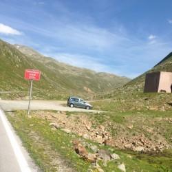 Rennradtour Ötztaler Gletscherstrasse: Timmelsbachbrücke