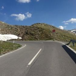 Rennradtour Ötztaler Gletscherstrasse: Letzte Kehre 11 Nord