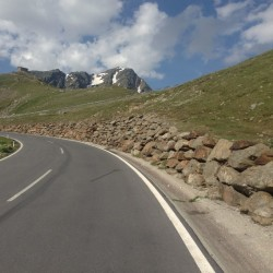 Rennradtour Ötztaler Gletscherstrasse: Kehren Nord