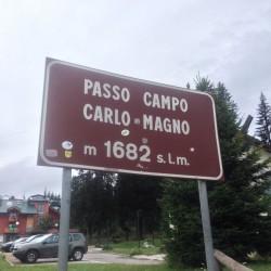 Rennradtour Adamello-Presanella: Passo Campo Carlo Magno (1682m)
