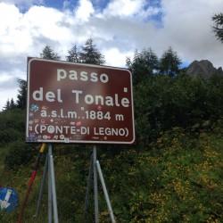 Rennradtour Adamello-Presanella: Passo del Tonale (1884m)
