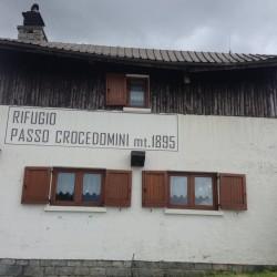 Rennradtour Adamello-Presanella: Rifugio Passo Crocedomini
