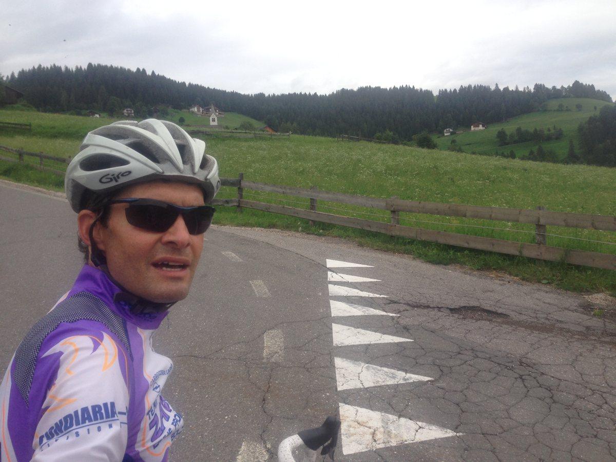 Rennradrunde Jenesien - Flaas - Afing: Peer