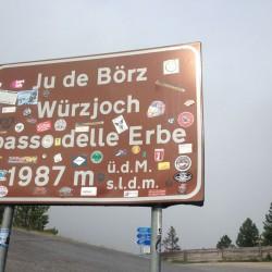 Würzjoch (1987m) / Dolomiten