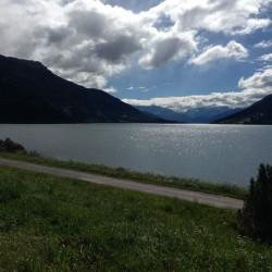 Endura Alpen Traum 2014: Reschen mit Ortler