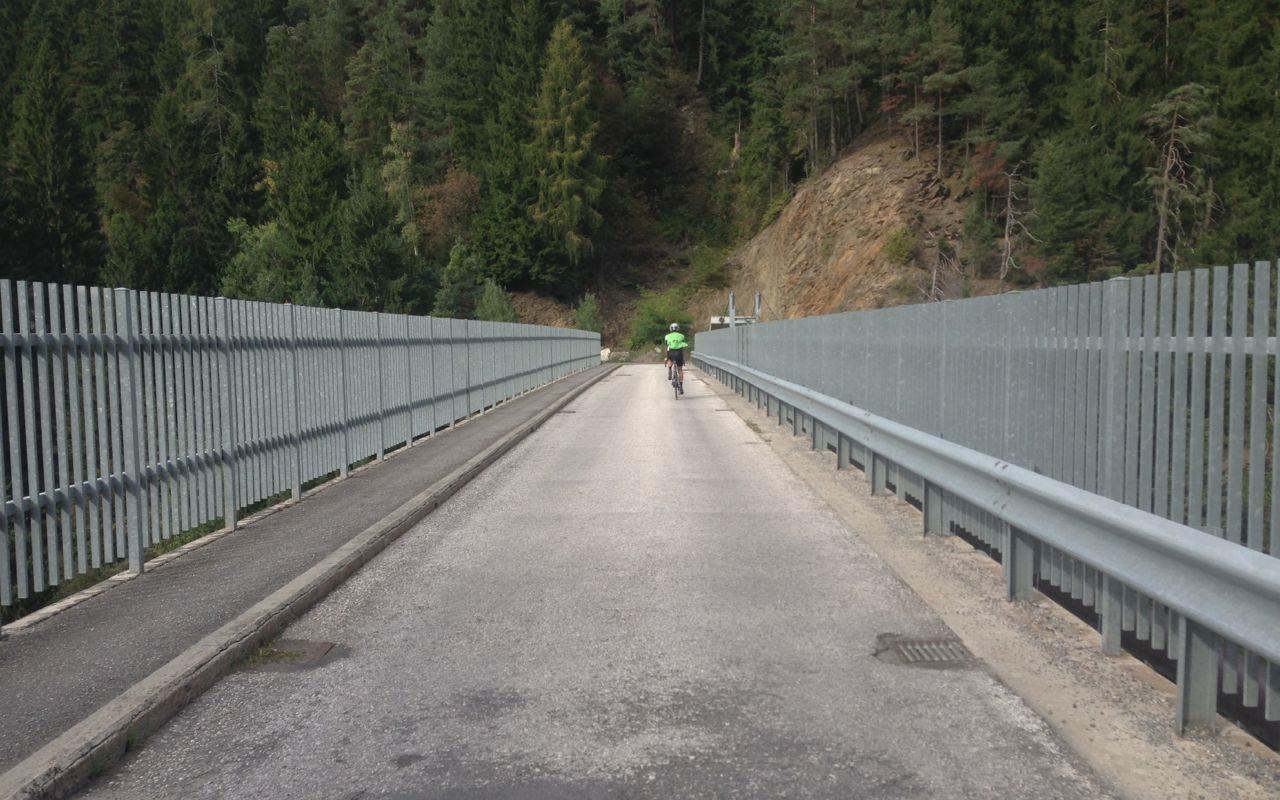 Rennradtour Videgg / Brücke