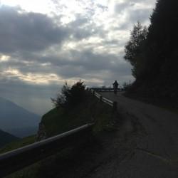 Rennradtour Videgg: Rückweg