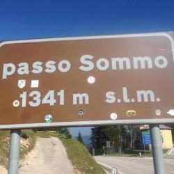 Roveretorunde: Passo Sommo (1341m)