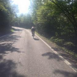 Roveretorunde: Rennradfahrer