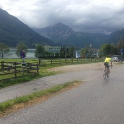 Rennradtour Bozen - Sauerlach: Achensee