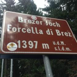 Brezer Joch / Forcella di Brez (1397m)