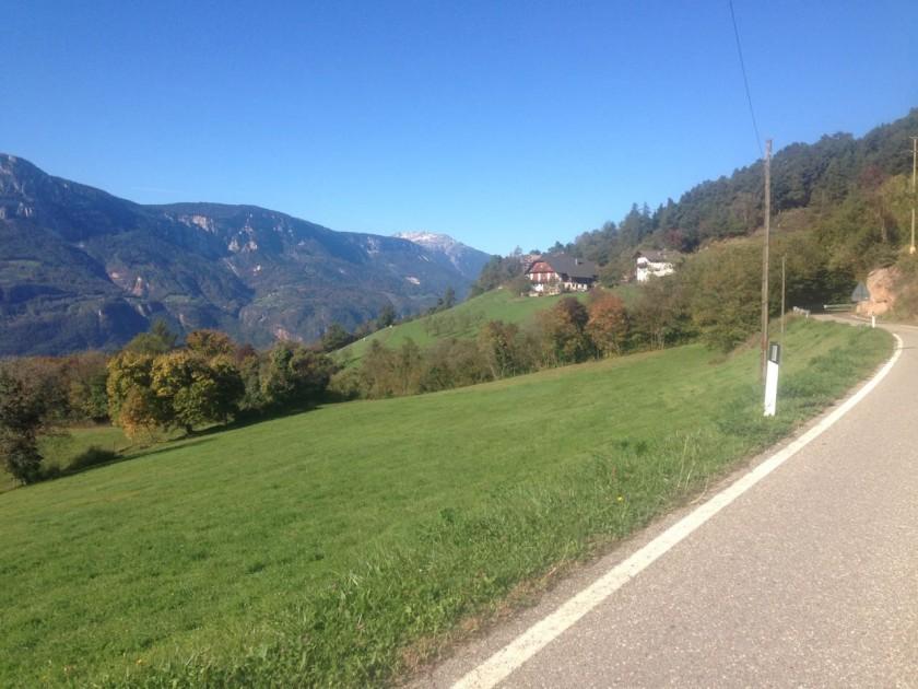 Rennradtour Glaning: Etschtal
