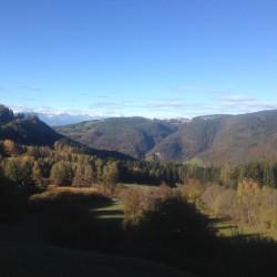 Passo San Lugano: Panorama