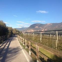 Passo San Lugano: Radweg