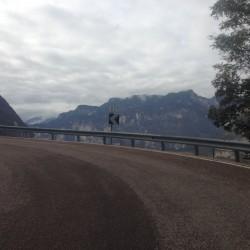 Rennradtour Gfrill: Kehre