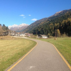 Rennradtour Passo Lavaze - Passo Pramadiccio - Passo Costalunga: Fassatal