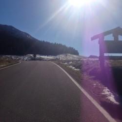 Rennradtour Passo Lavaze - Passo Pramadiccio - Passo Costalunga: Hell