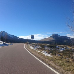 Rennradtour Passo Lavaze - Passo Pramadiccio - Passo Costalunga: Jochgrimm
