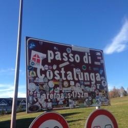 Rennradtour Passo Lavaze - Passo Pramadiccio - Passo Costalunga: Karerpass (1752m)