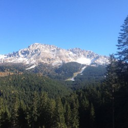Rennradtour Passo Lavaze - Passo Pramadiccio - Passo Costalunga: Latemar