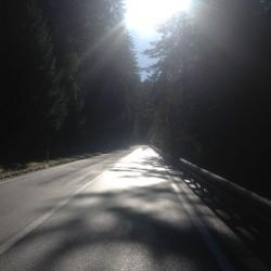 Rennradtour Passo Lavaze - Passo Pramadiccio - Passo Costalunga: Sonnenstrasse