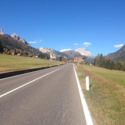 Rennradtour Passo Lavaze - Passo Pramadiccio - Passo Costalunga: Vigo di Fassa