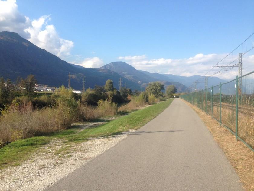 Rennradtour Prissian: Etschtal