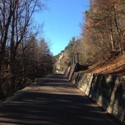 Rennradtour - Fennberg / Anstieg