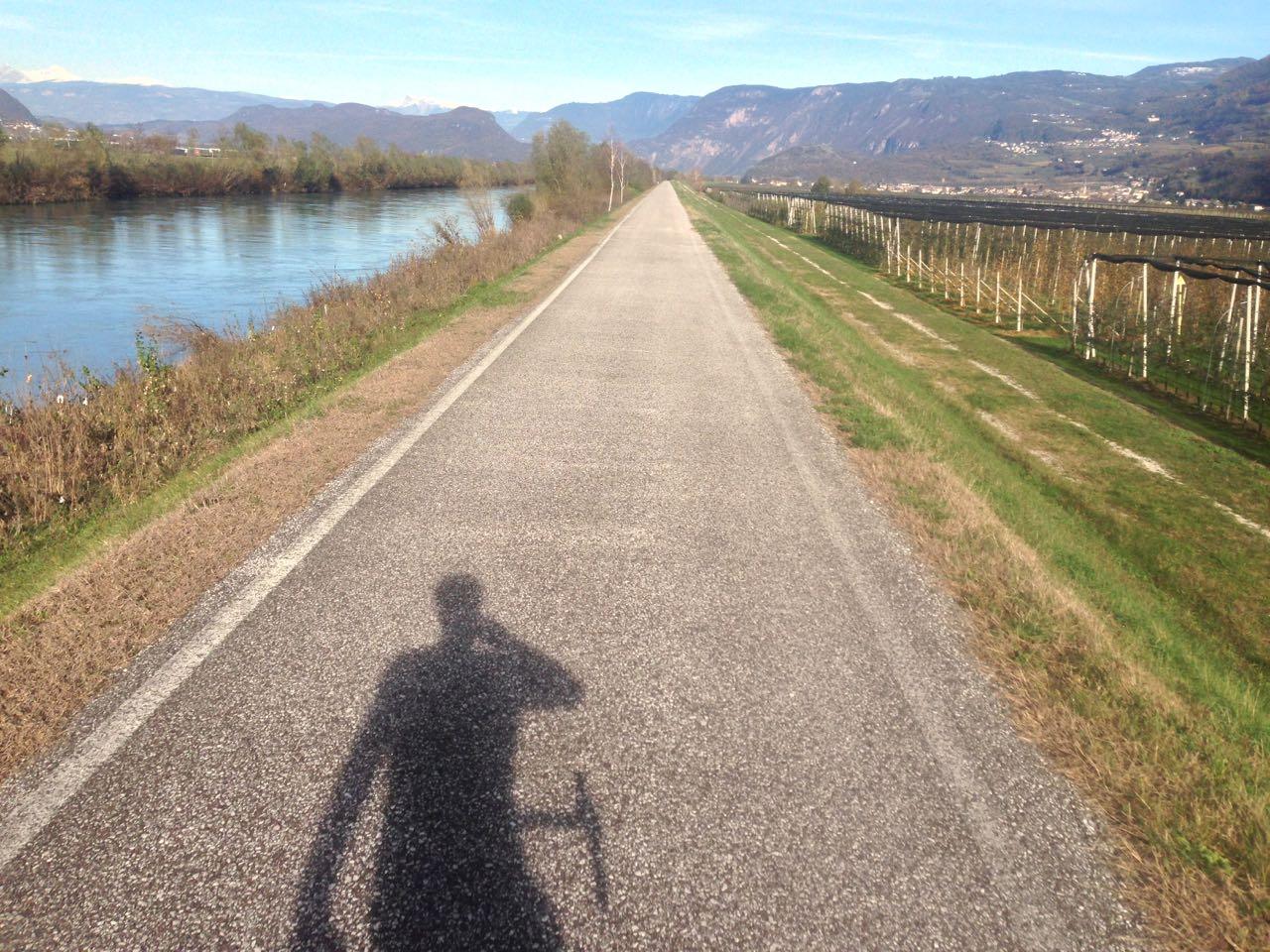 Rennradtour Salurn / Rückweg