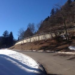 Mendel Winterfahrt / Schnee