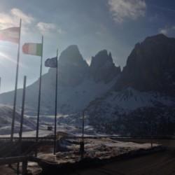 Winter Sellaronda: Langkofelmassiv
