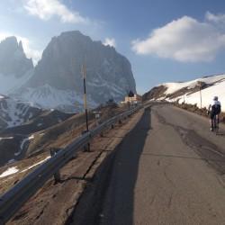 Winter Sellaronda: Letzte Höhenmeter