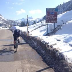 Winter Sellaronda: Passo Campolongo