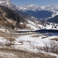 Winter Sellaronda: Richtung Corvara