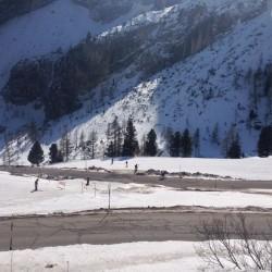 Winter Sellaronda:Vorfahrt Rennrad