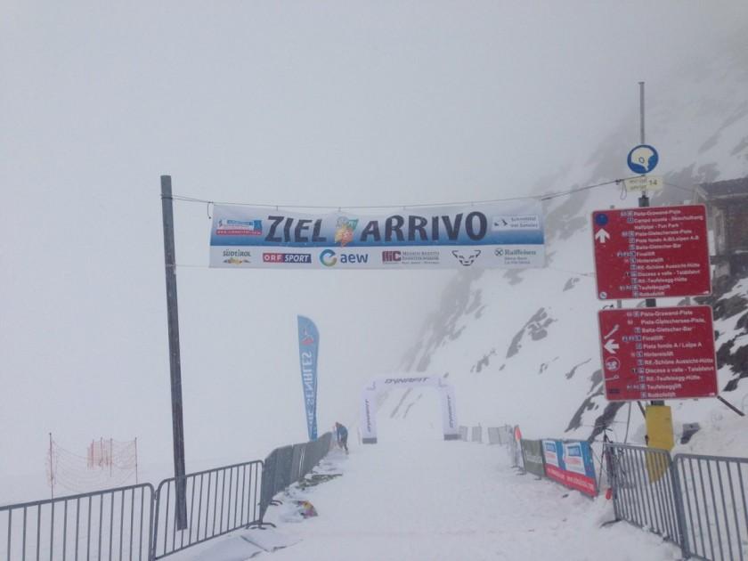 Ötzi Alpin Marathon 2015 / Ziel