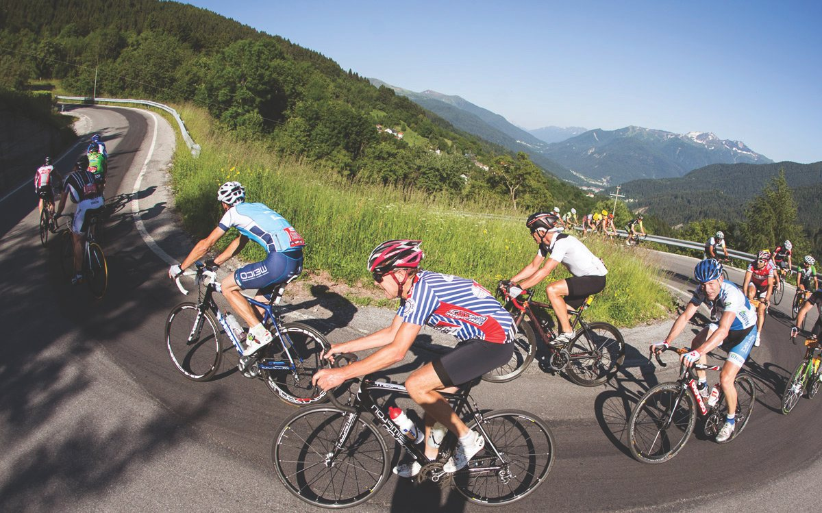 Supergiro Dolomiti bei Bike & More