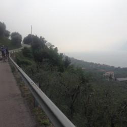 Rennradtour Bozen - Malcesine / Aussicht Gardasee