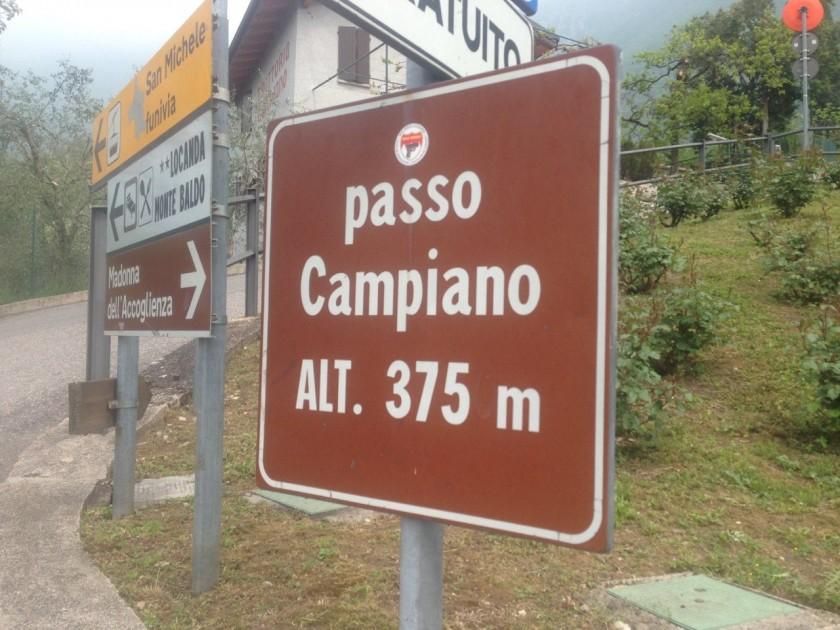 Rennradtour Bozen - Malcesine / Passo Campiano (375m)