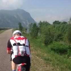 Rennradtour Bozen - Malcesine / Radweg