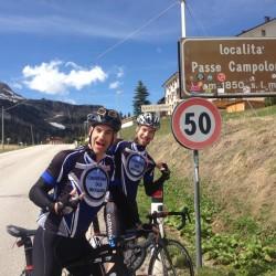 Triathlon Camp Südtirol / Vater und Sohn